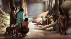 Shepherds came to see the new born king Luke 2:15-16