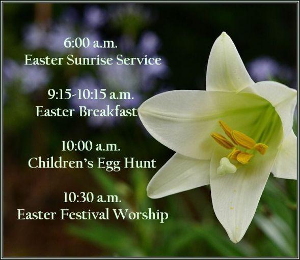 easter schedule2