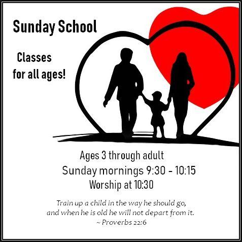 Sunday school heart
